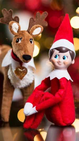 Elf On The Shelf Wallpaper