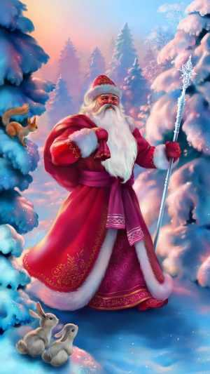 Santa Claus Wallpaper Wallpaper