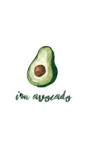 Avocado Wallpaper