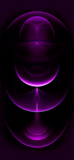 iPhone 12 WallPaper Purple