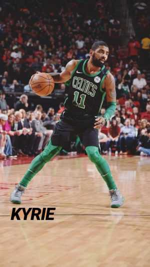 Kyrie Irving Background Wallpaper