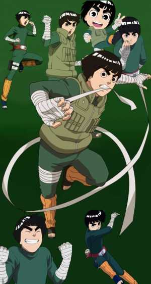 Rock Lee Background