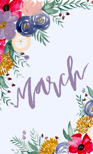 March Background