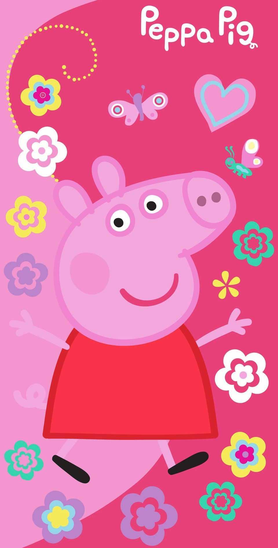 Peppa Pig House Wallpaper Ixpap
